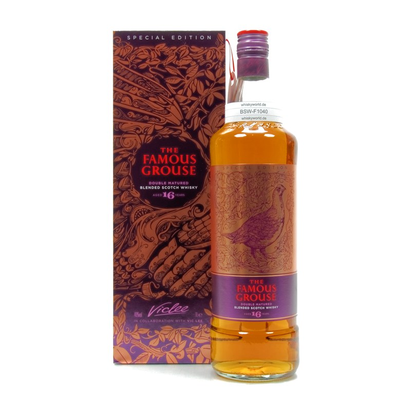 16 Jahre Double Matured Vic Lee Literflasche 1 L/ 40.00%