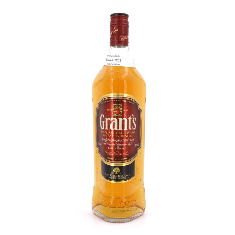 Grants Family Reserve Literflasche 1 L/ 40.00%´
