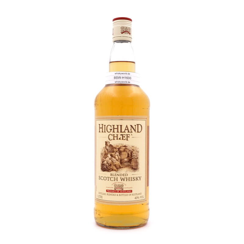Highland Chief Blended Scotch Whisky Literflasche 1 L/ 40.00%