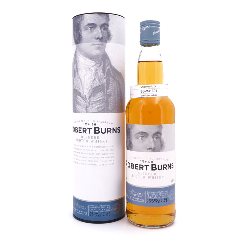 Isle of Arran Robert Burns Blend 0,70 L/ 40.00%