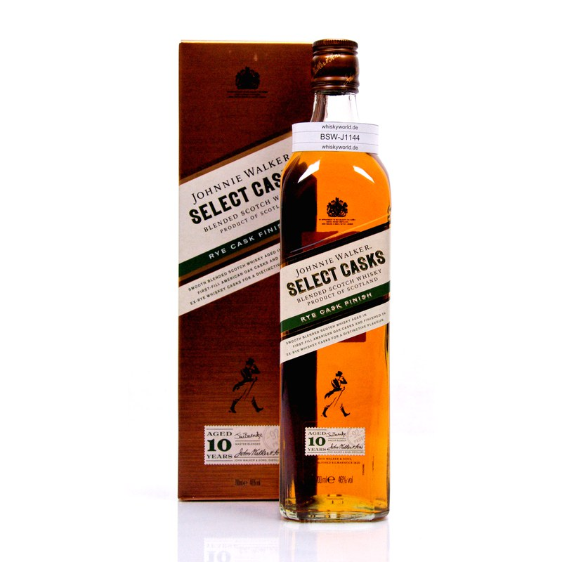 Johnnie Walker Select Casks Rye finish 10 Jahre...