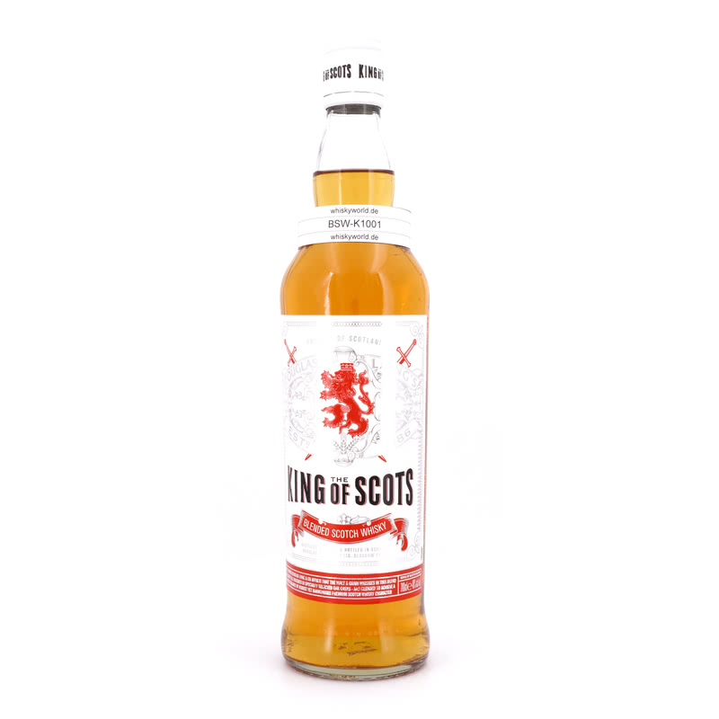 The King of Scots Blended Scotch Whisky 0,70 L/ 40.00%