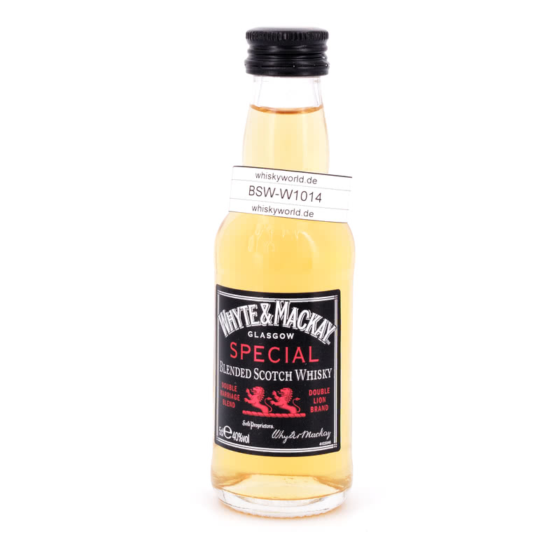 Whyte & Mackay Special Blended Miniatur 0,050 L/ 40.00%