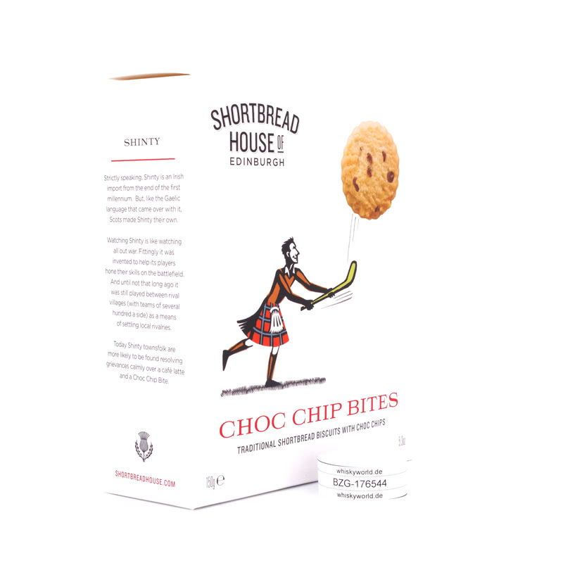 Shortbread House of Edinburgh Shortbread Kekse mit Chocolate Chips 150 g