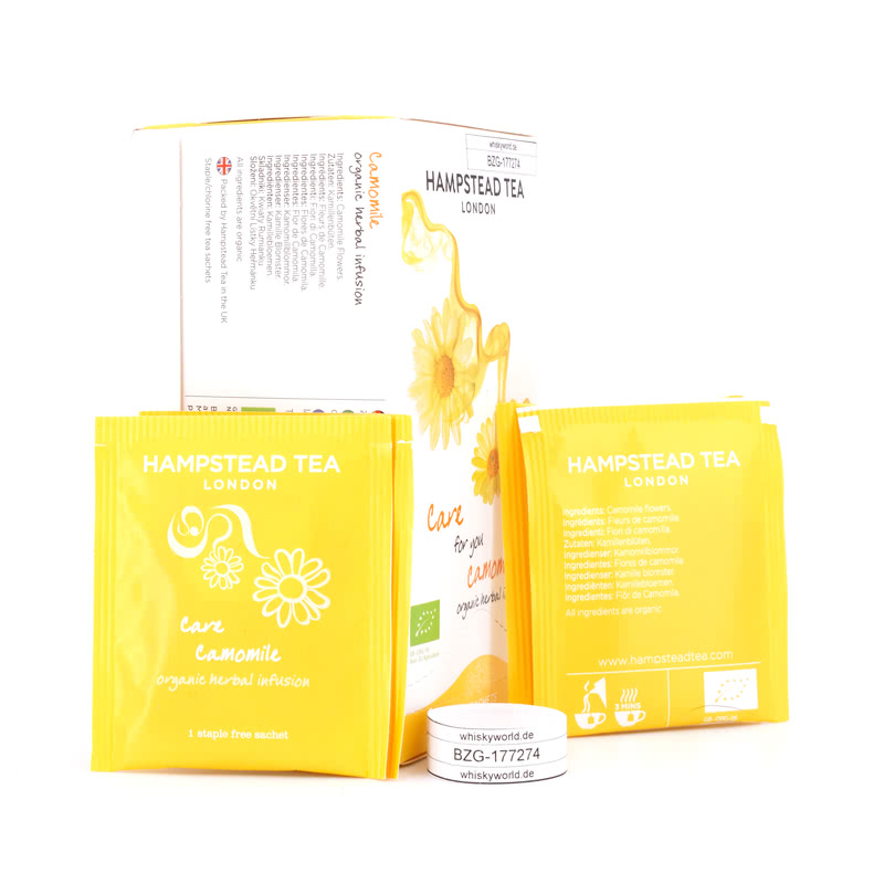 Hampstead Tea BIO Care for you Camomile 20 Teebeutel 30 g