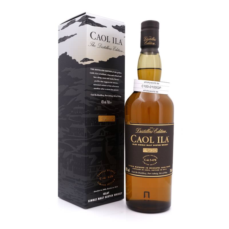 Distillers Edition Moscatel Cask Wood Jahrgang 2006 0,70 L/ 43.00%