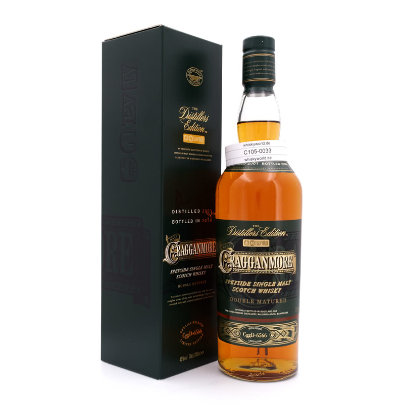 Cragganmore Distillers Edition Port Wine Cask Wood finish 0,70 L/ 40.00%