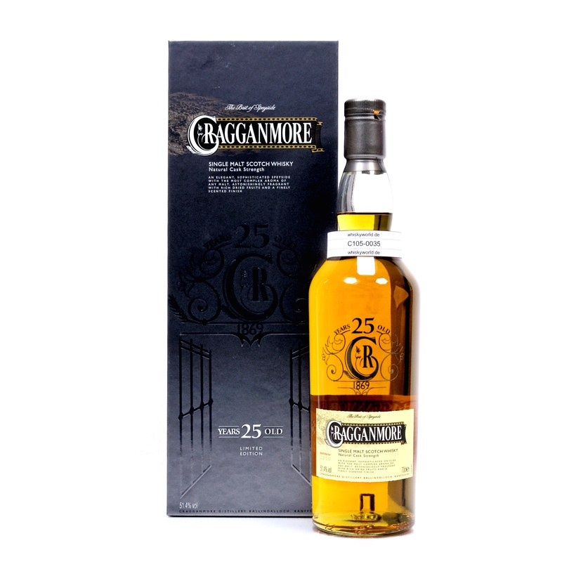 25 Jahre Natural Cask Strength 0,70 L/ 51.40%
