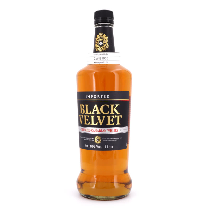 Black Velvet Canadian Whisky Literflasche 1 L/ ...