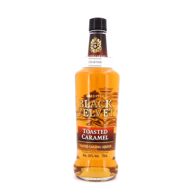 Black Velvet Toasted Caramel Whisky-Likör 0,70 ...