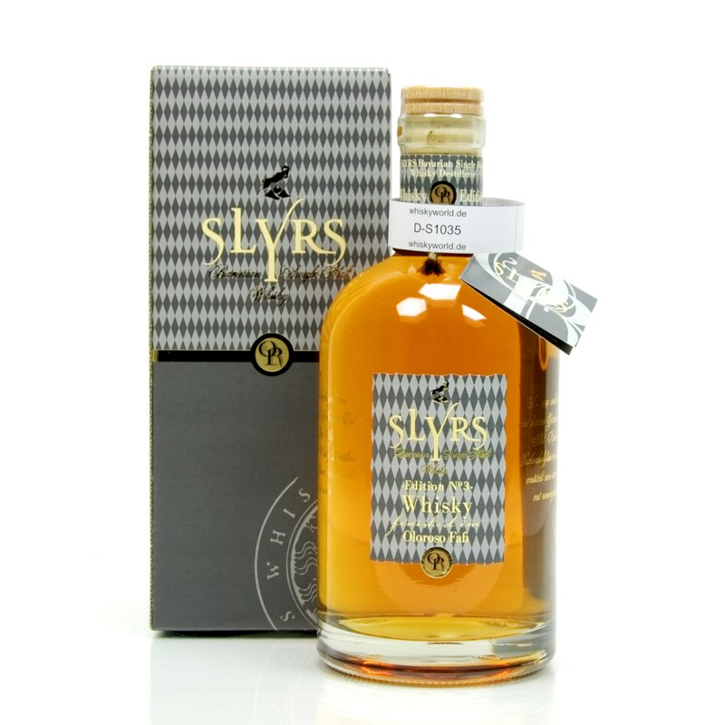 Slyrs Oloroso finish 2015 Edition No.3 0,70 L/ 46.00%
