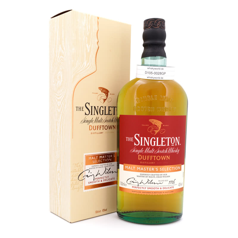 Dufftown Malt Master`s Selection The of Dufftown 0,70 L/ 40.00%