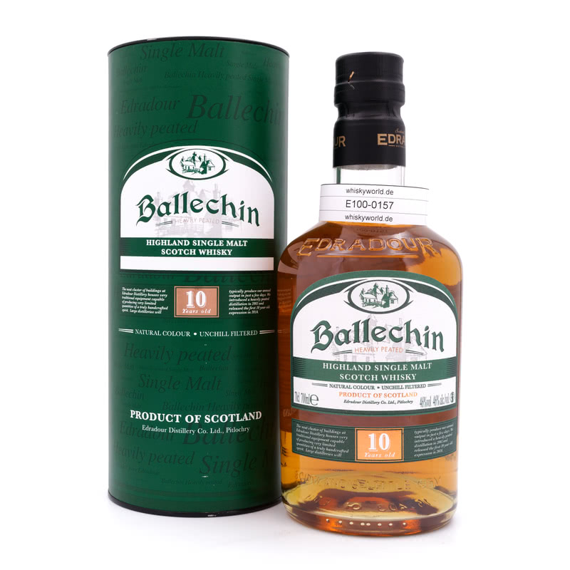 Ballechin 10 Jahre Heavily Peated 0,70 L/ 46.00%