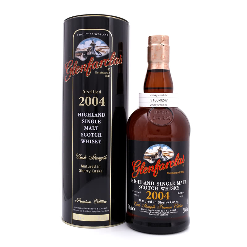 Sherry Casks Jahrgang 2004 Cask Strength 0,70 L/ 59.40%