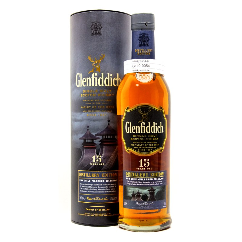 Glenfiddich 15 Jahre Distillery Edition 0,70 L/ 51.00%