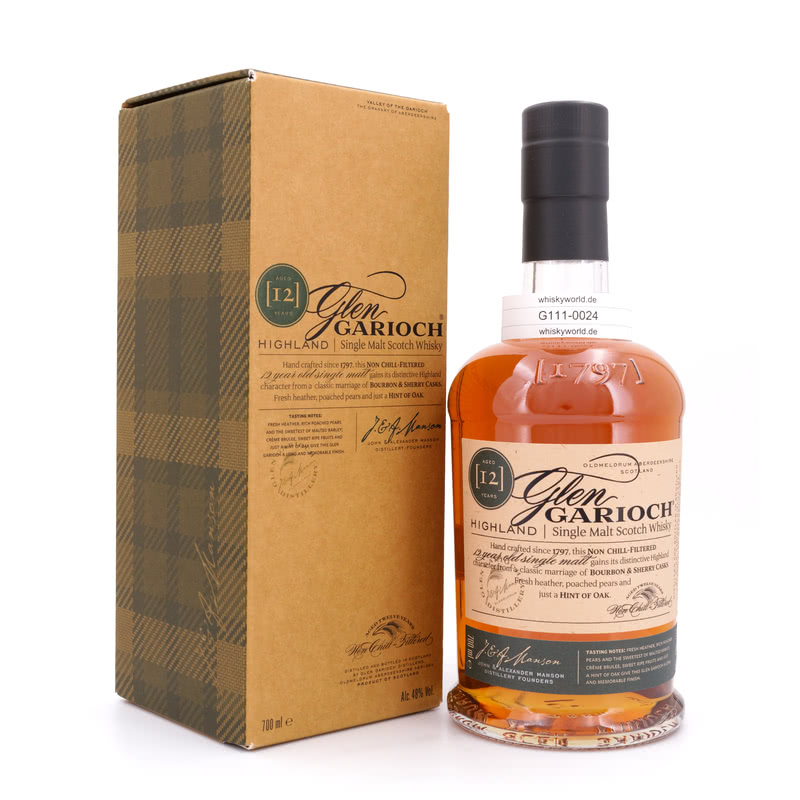 Glen Garioch 12 Jahre Bourbon & Sherry Casks 0,70 L/ 48.00%