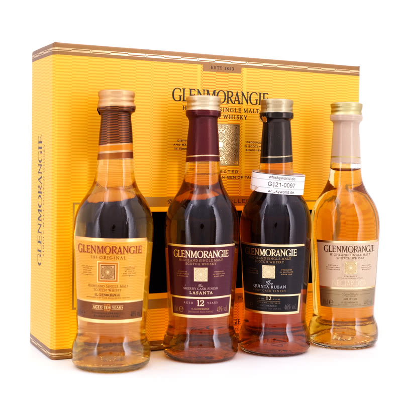 The Pioneering Collection 4 x 0,1l Taster Pack 0,40 L/ 43.75%