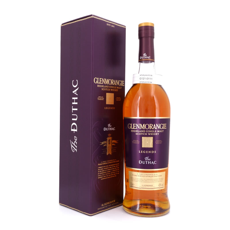 Glenmorangie Duthac finished in Pedro Ximenez & Virgin Oak Casks Literflasche 1 L/ 43.00%