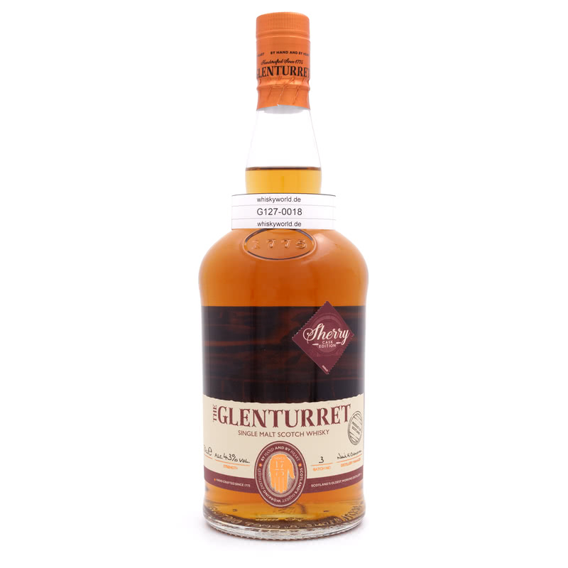 Glenturret Sherrywood Edition 43 Batch No. 3 0,70 L/ 43.00%