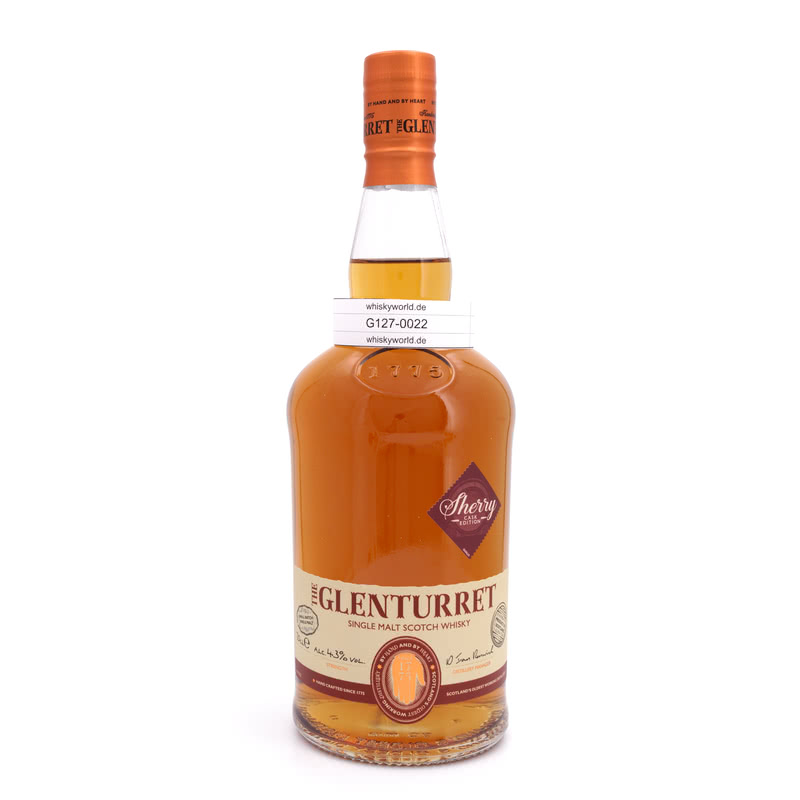 Glenturret Sherry Edition Small Batch 0,70 L/ 43.00%