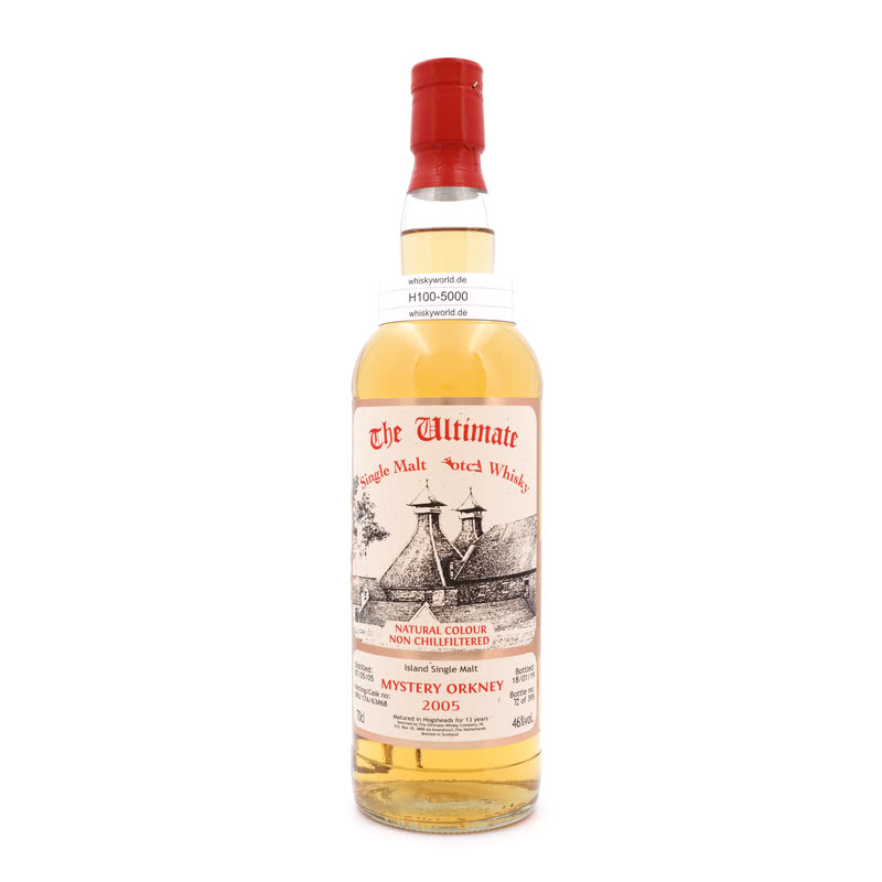 Mystery Orkney 13 Jahre The Ultimate Single Cask Abfüllung 0,70 L/ 46.00%