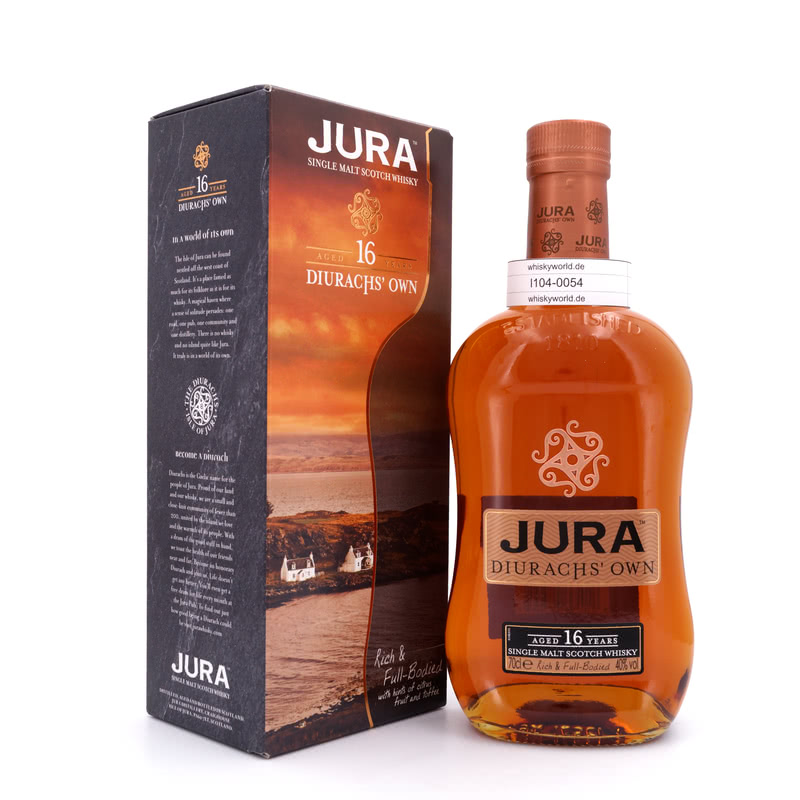 Isle of Jura 16 Jahre Diurachs`Own 0,70 L/ 40.00%