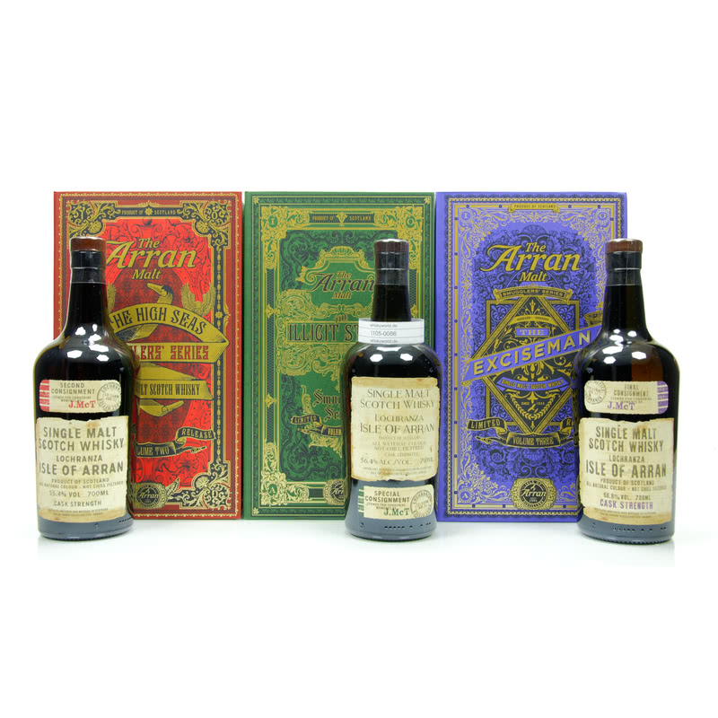 Isle of Smugglers Edition Series #1; #2 & Volume Three 2,10 L/ 56.20%