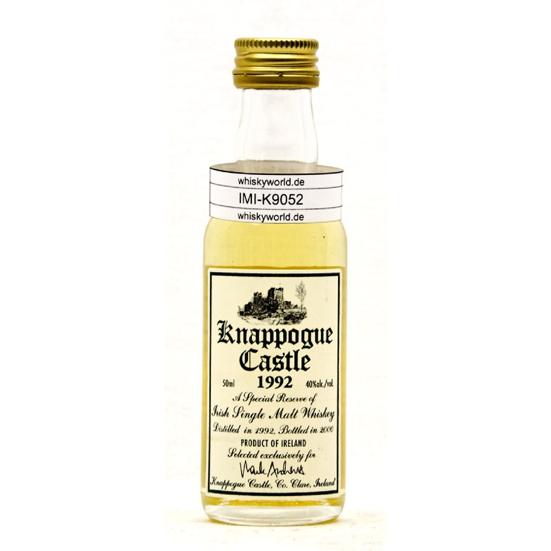 Knappogue Irish Single Malt 1992 0,050 L/ 40.00%
