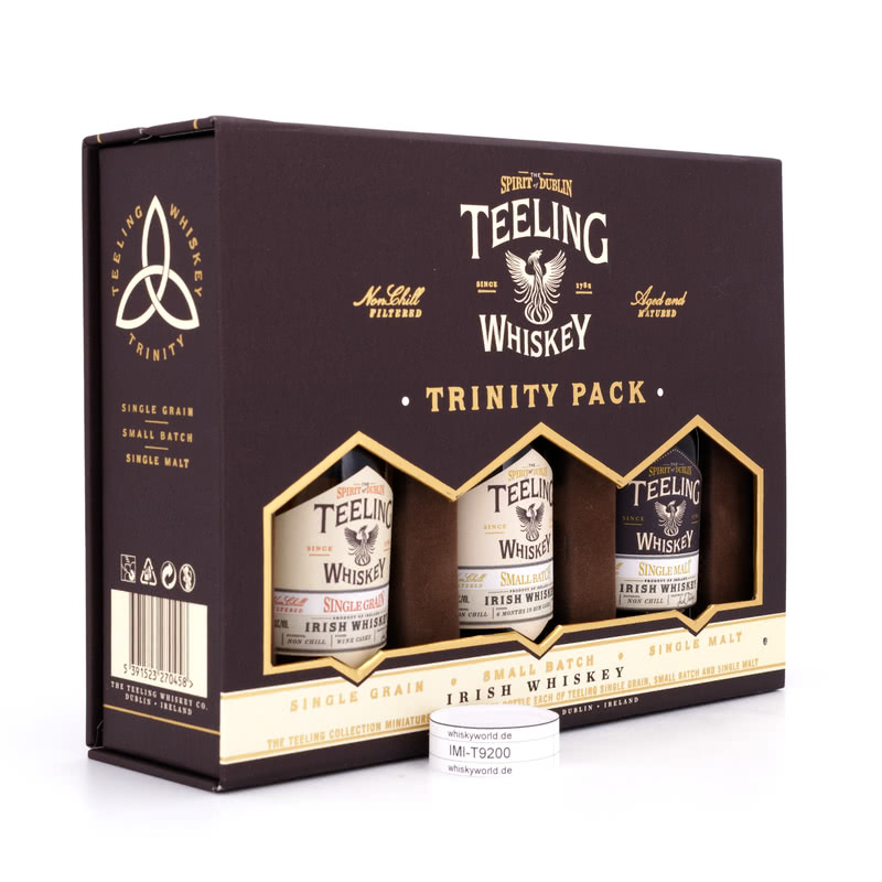Teeling Collection beinhaltet Small Batch, Single Grain & Single Malt je 0,05l 0,150 L/ 46.00%