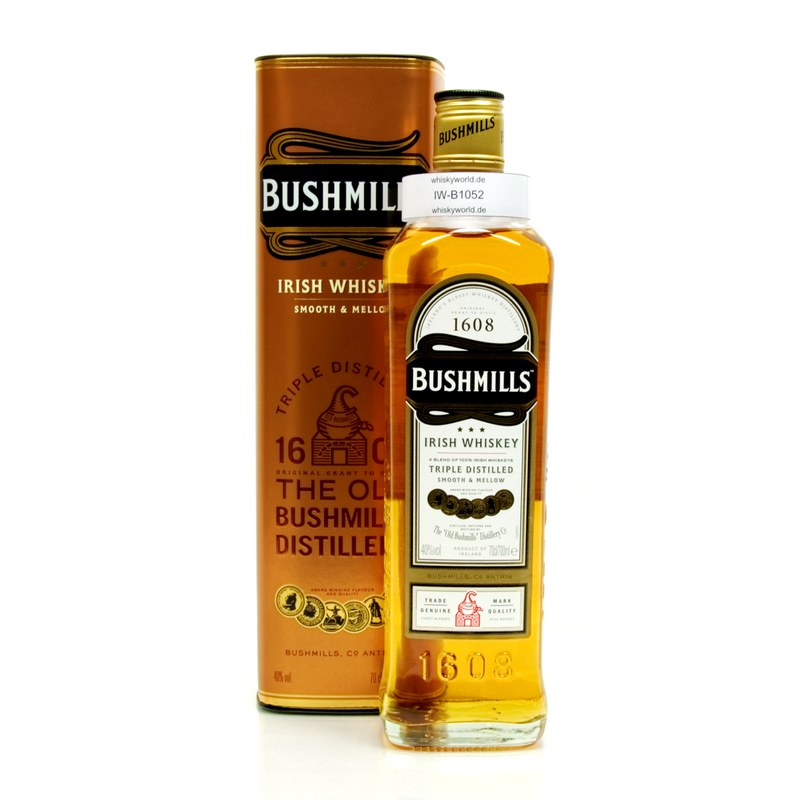Bushmills 1608 Triple Distilled 0,70 L/ 40.00%