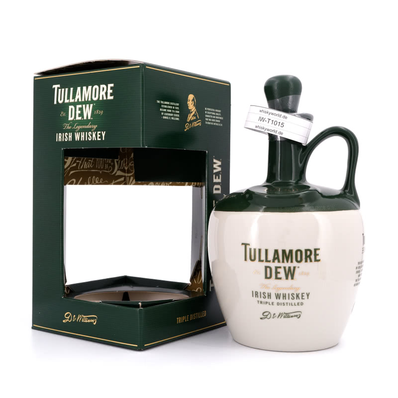 Tullamore Dew The Legendary Keramikkrug 0,70 L/ 40.00%