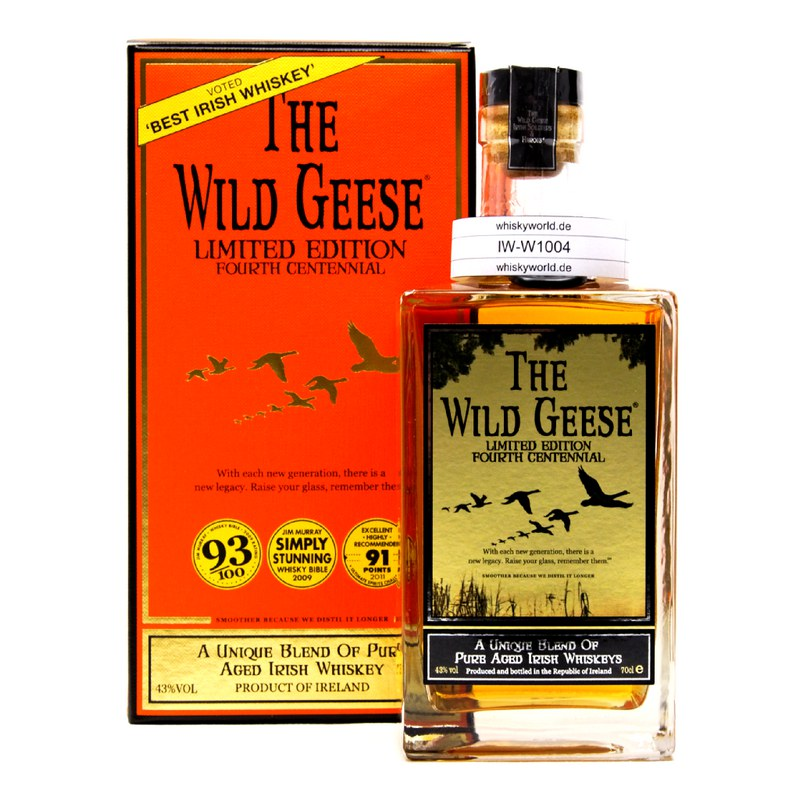 The Wild Geese Fourth Centennial Limited Edition 0,70 L/ 43.00%