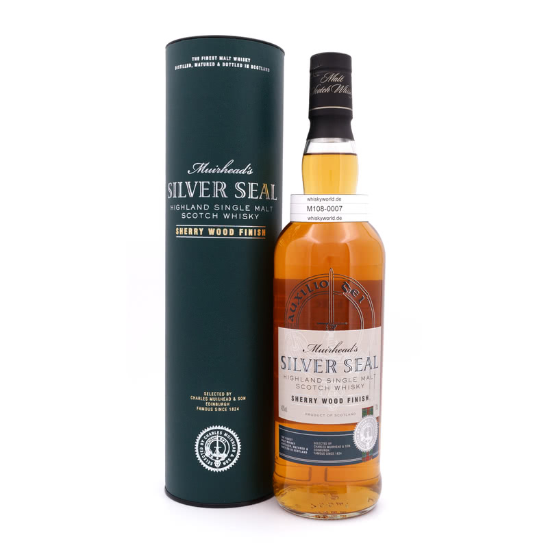 Muirheads Silver Seal Sherry Wood Finish 0,70 L/ 40.00%