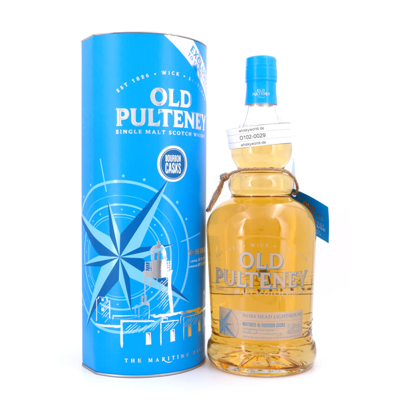 Old Pulteney Noss Head Lighthouse Literflasche ...