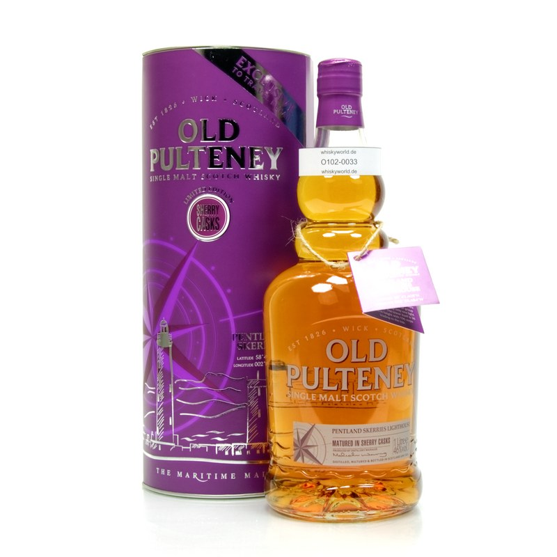 Old Pulteney Pentland Skerries Literflasche 1 L/ 46.00%