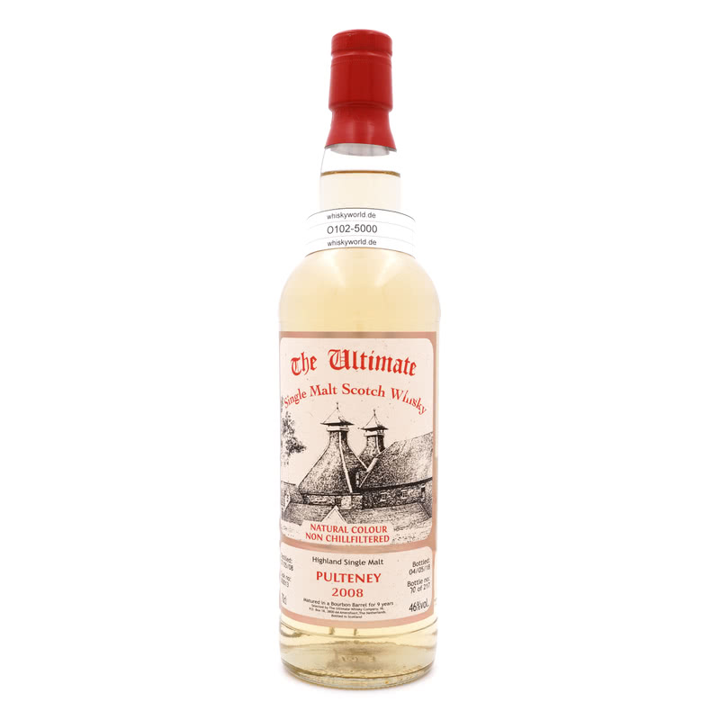 Old Pulteney Jahrgang 2008 9 Jahre The Ultimate Single Cask Abfüllung 0,70 L/ 46.00%