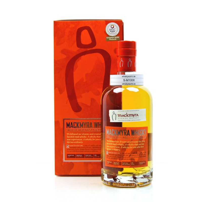 Mackmyra First Edition 0,70 L/ 46.10%