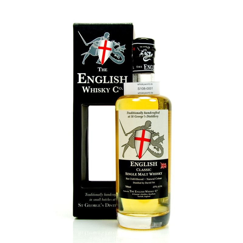St George`s Distillery The English Whisky C° Classic 0,70 L/ 43.00%