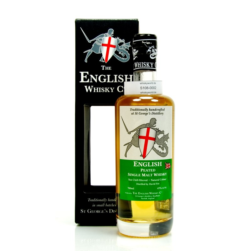 St George`s Distillery The English Whisky C° Peated 0,70 L/ 43.00%