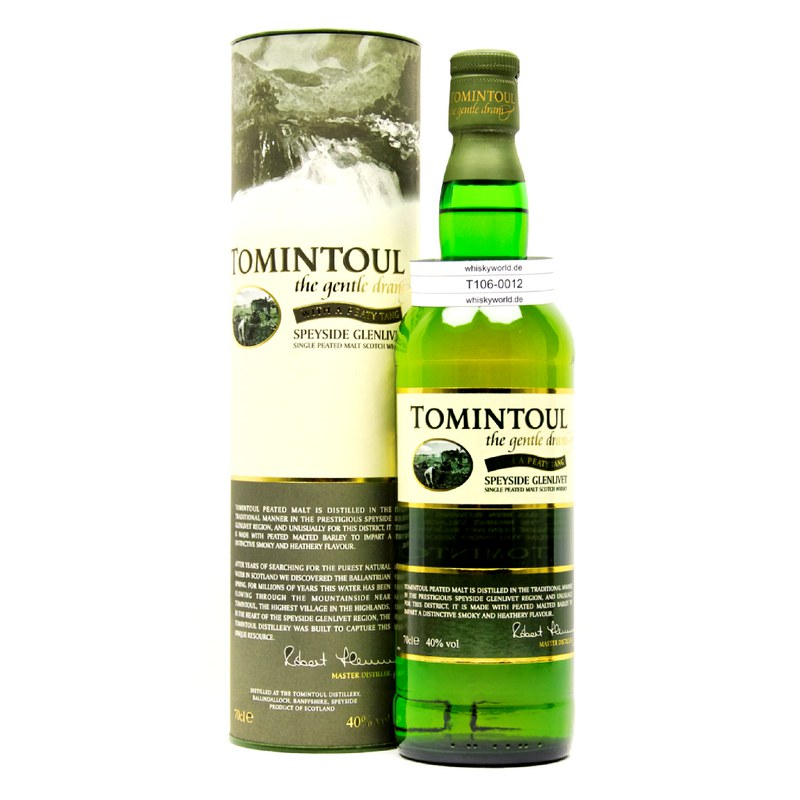 Tomintoul With a Peaty Tang 0,70 L/ 40.00%