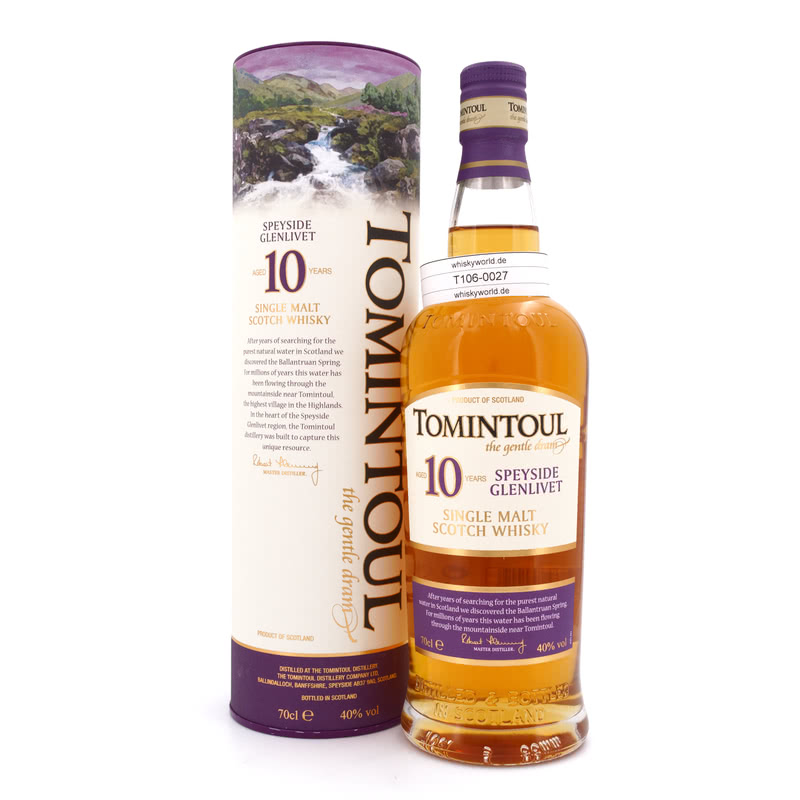 10 Jahre the gentle dram 0,70 L/ 40.00%