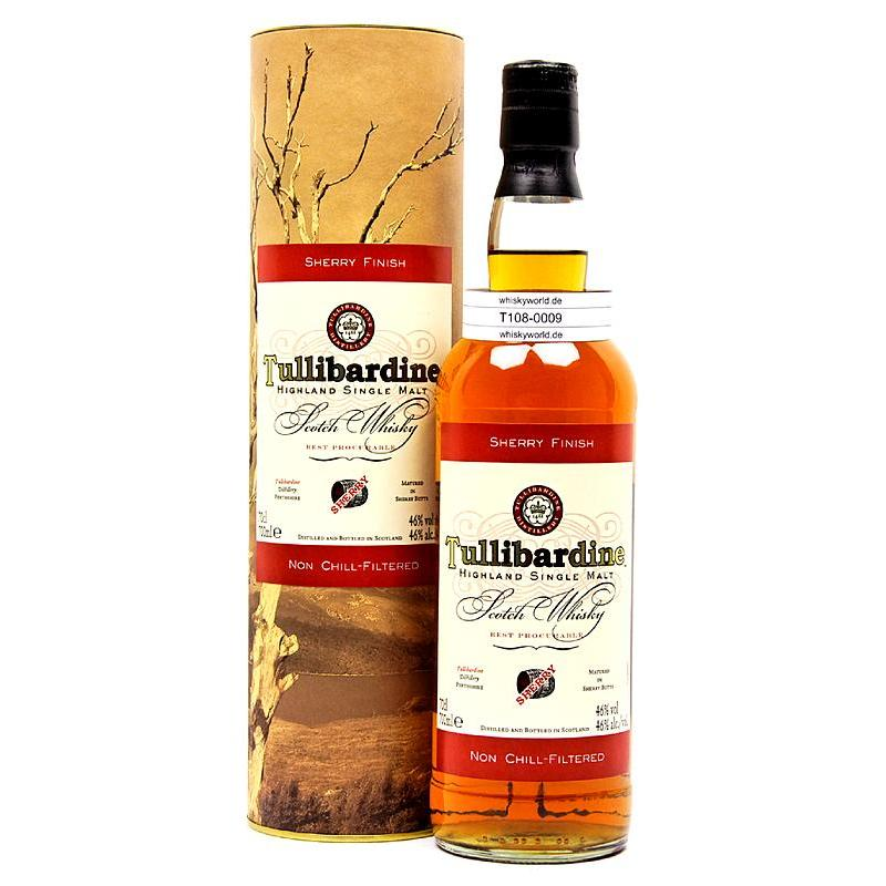 Tullibardine Sherry finish 0,70 L/ 46.00%