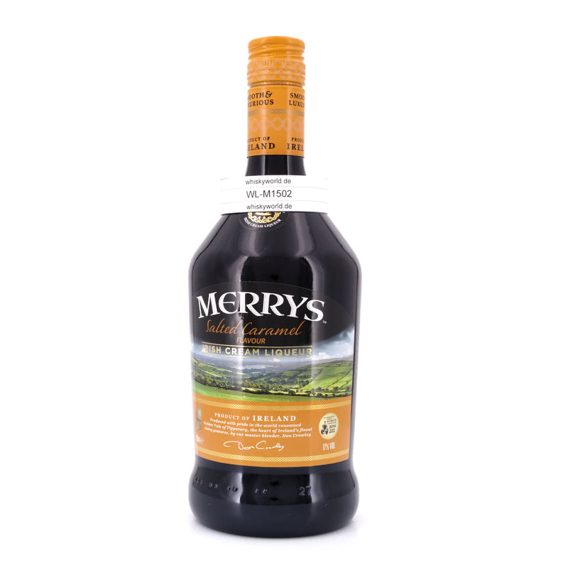 Merrys Irish Cream Salted Caramel 0,70 L/ 17.00%