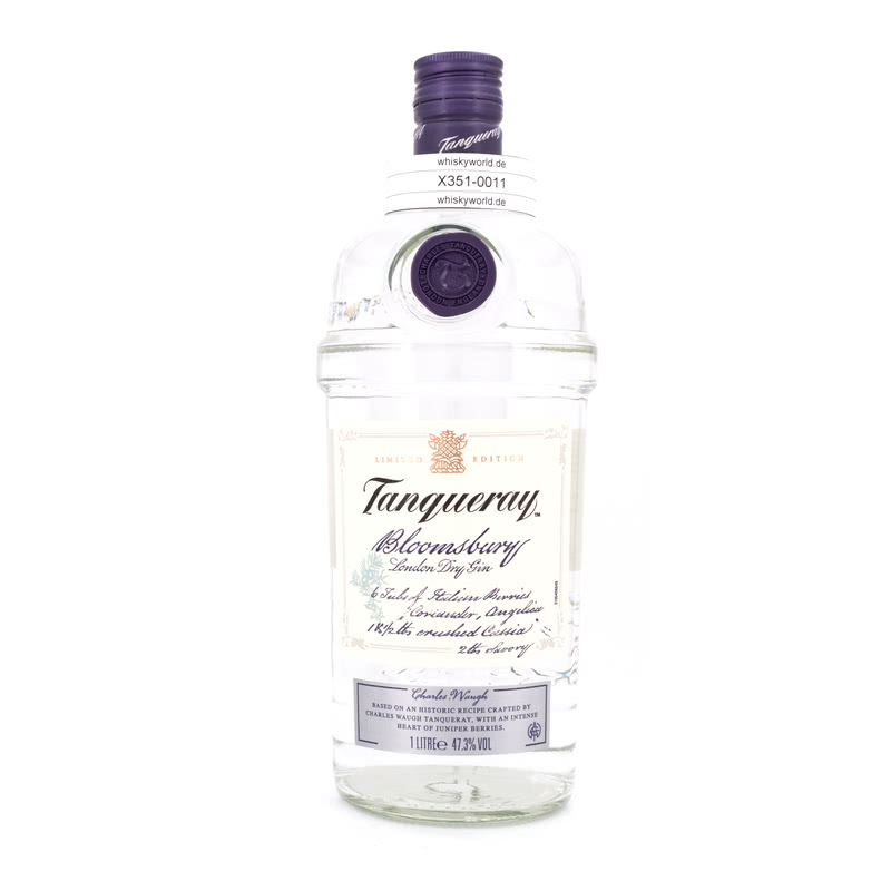 Tanqueray Bloomsbury London Dry Gin Literflasche 1 L/ 47.30%
