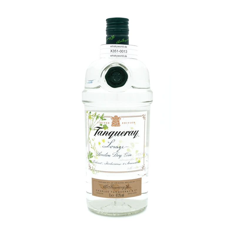 Tanqueray Lovage London Dry Gin Literflasche 1 L/ 47.30%