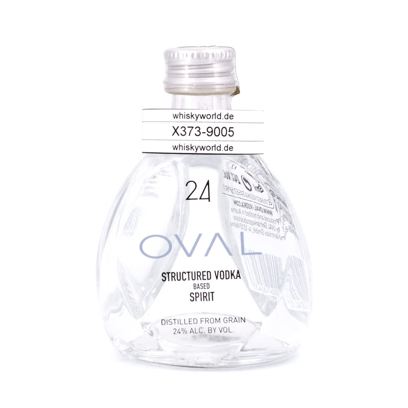 Oval 24 Spirit Structured Vodka Miniatur 0,050 L/ 24.00%