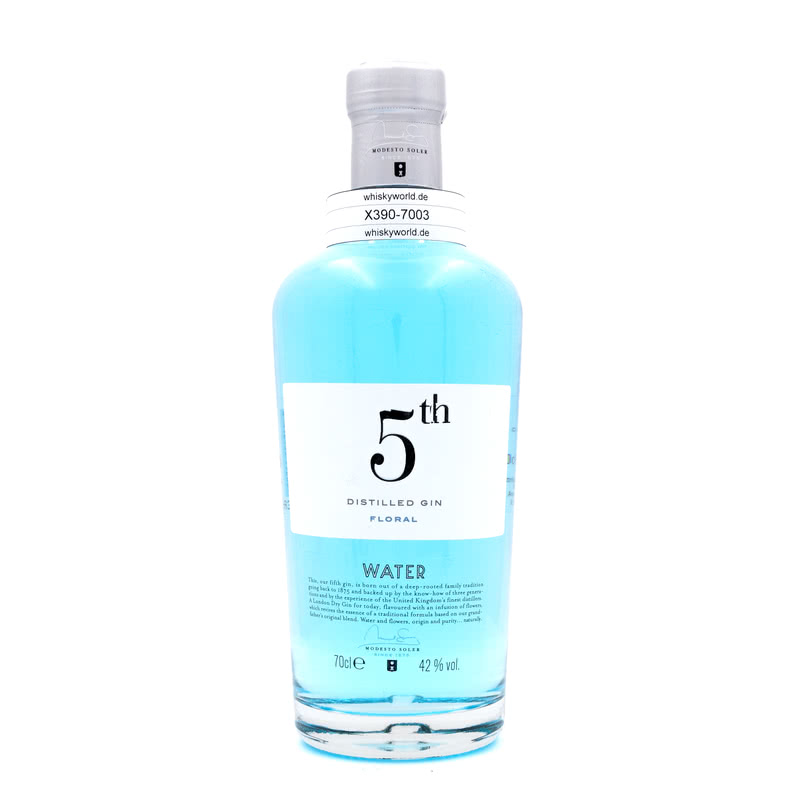 5Th Gin Water Floral 0,70 L/ 42.00%