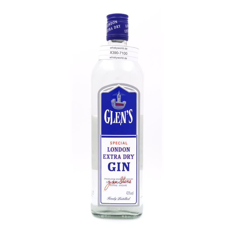 Glen Catrine Distillers Glens London Extra Dry Gin 0,70 L/ 43.00%