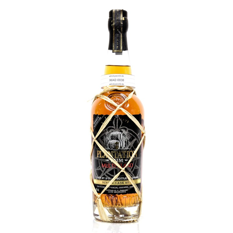 Plantation St.Lucia, Guyana, Jamaica Blend Single Cask / Banyuls Cask Finish 0,70 L/ 44.00%