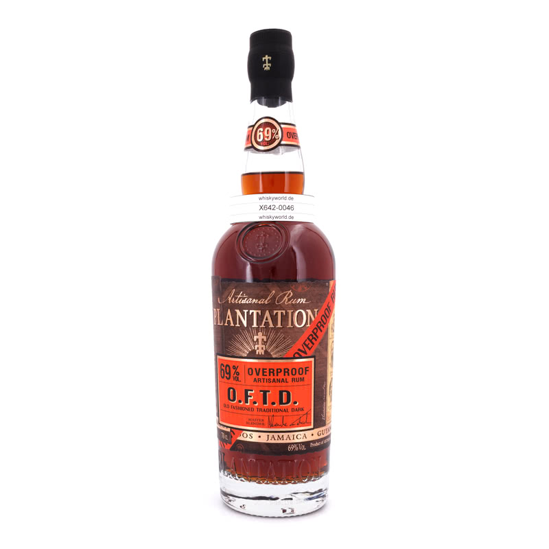O.F.T.D. Overproof Old Fashioned Traditional Dark 0,70 L/ 69.00%